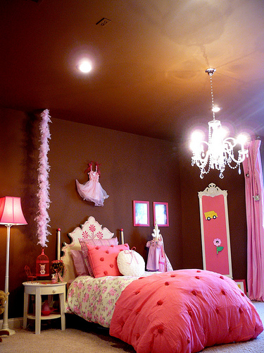 Cute little girl s room nothing fancy just all glam for A hover text decoration underline